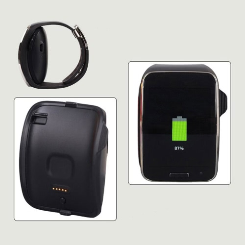 KKmoon Portable High-quality Gear S Replacement Charger Cradle Holder Charging Dock with Micro USB Data Cable for Samsung Gear S SCellphone &amp; Accessories<br>KKmoon Portable High-quality Gear S Replacement Charger Cradle Holder Charging Dock with Micro USB Data Cable for Samsung Gear S S<br>