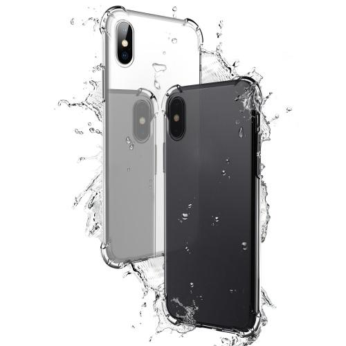 TPU保護ケースiPhone Xのカバー5.8インチ環境にやさしいスタイリッシュなポータブルアンチスクラッチ防塵耐久性