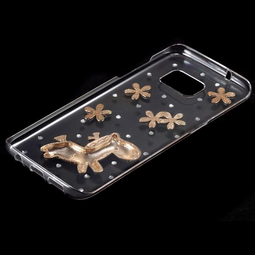 KKmoon Shell Case Protective Back Cover Ultrathin Lightweight Plastic Fashion Bling Bumper for Samsung Galaxy S7 EdgeCellphone &amp; Accessories<br>KKmoon Shell Case Protective Back Cover Ultrathin Lightweight Plastic Fashion Bling Bumper for Samsung Galaxy S7 Edge<br>
