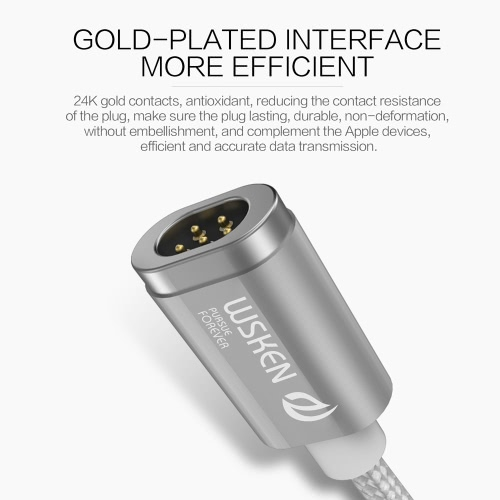 Wsken Mini 2 Micro USB Metal Magnetic Charging Cable USB 2.0Cellphone &amp; Accessories<br>Wsken Mini 2 Micro USB Metal Magnetic Charging Cable USB 2.0<br>