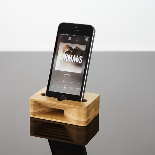 Multi-Function Cell Phone Stand Holder Bamboo Wood Dock with Sound Amplifier Natural Stands Within 5.5 Inches for iPhone 7 6s SamsCellphone &amp; Accessories<br>Multi-Function Cell Phone Stand Holder Bamboo Wood Dock with Sound Amplifier Natural Stands Within 5.5 Inches for iPhone 7 6s Sams<br>