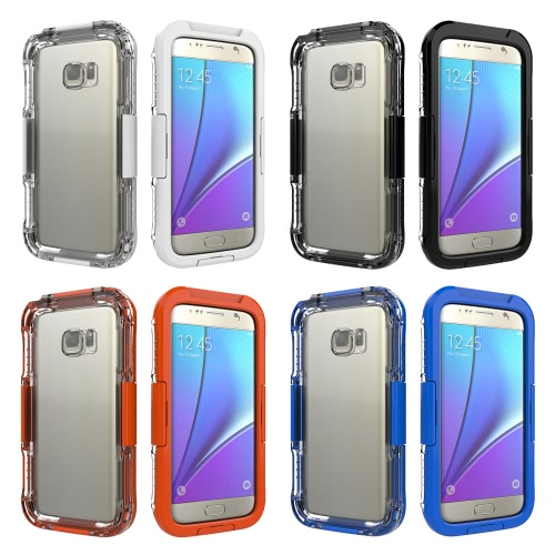 Waterproof Shockproof Dirt Snow Proof Cover Case for Samsung GALAXY S7 Unique Design Waterproof   Breathable Film High TransparencCellphone &amp; Accessories<br>Waterproof Shockproof Dirt Snow Proof Cover Case for Samsung GALAXY S7 Unique Design Waterproof   Breathable Film High Transparenc<br>
