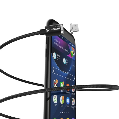 Original Wsken Mini 2 Micro USB Metal Magnetic Charging Cable USB 2.0 Intelligent Data Sync Charger Cord Quick Charging with LED SCellphone &amp; Accessories<br>Original Wsken Mini 2 Micro USB Metal Magnetic Charging Cable USB 2.0 Intelligent Data Sync Charger Cord Quick Charging with LED S<br>