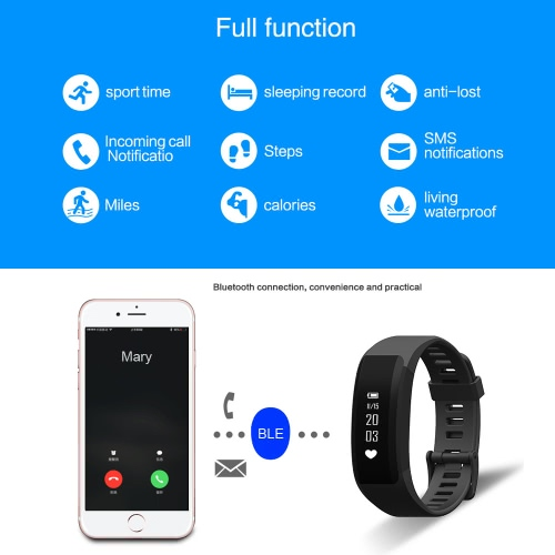 H28 Smart Sport Fitness Bracelet Tracker 0.86inch OLED Screen Display DA14580 Chip BLE4.0 50mAh Battery Intelligent Sports Band PeCellphone &amp; Accessories<br>H28 Smart Sport Fitness Bracelet Tracker 0.86inch OLED Screen Display DA14580 Chip BLE4.0 50mAh Battery Intelligent Sports Band Pe<br>