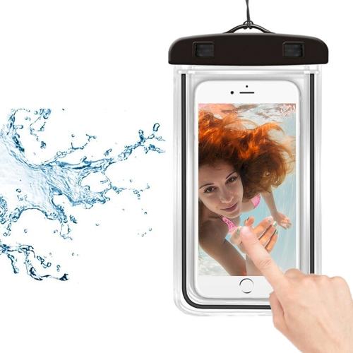 Universal Luminous Fluorescence PVC Waterprooof Smart Phone Bag for All Phones