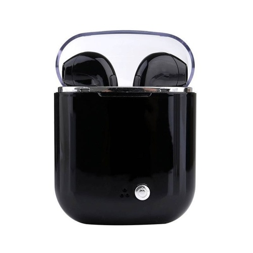 Wireless Earphone BT Earbud Anti-noise Stereo Headset with Portable Crystal Charging Box
