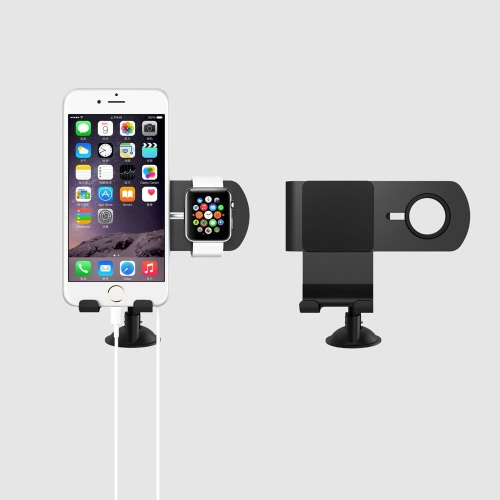 A03 2 in 1 Car Charging Stand Holder Vehicle-mounted Phone Watch Holder Station for Apple Watch iWatch 38mm 42mm for iPhone 6S PluCellphone &amp; Accessories<br>A03 2 in 1 Car Charging Stand Holder Vehicle-mounted Phone Watch Holder Station for Apple Watch iWatch 38mm 42mm for iPhone 6S Plu<br>