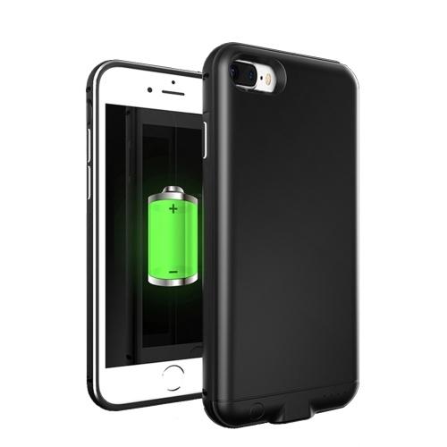 iPhone 7 8 Plus 4000mAh外付けバッテリ用外部USBポート電源バンク充電器バックアップバッテリケース