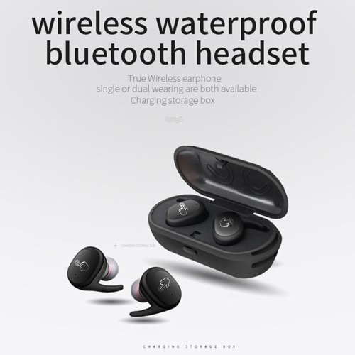 JH-S9100 Touch Control Mini Twins Earbuds TWS Earphone Waterproof Bluetooth Headset Handsfree with Charging Box for SmartphoneCellphone &amp; Accessories<br>JH-S9100 Touch Control Mini Twins Earbuds TWS Earphone Waterproof Bluetooth Headset Handsfree with Charging Box for Smartphone<br>