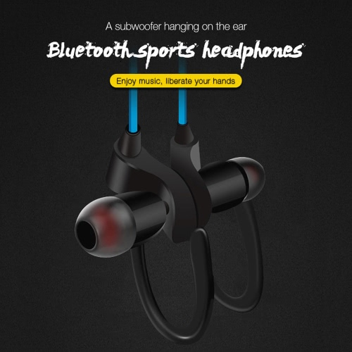 H2 Business Sport Earphone In-ear Wireless Stereo BT4.1 Running Headphone Headset Hands-free Pair/Off/On Receive/Hang Music Play/PCellphone &amp; Accessories<br>H2 Business Sport Earphone In-ear Wireless Stereo BT4.1 Running Headphone Headset Hands-free Pair/Off/On Receive/Hang Music Play/P<br>