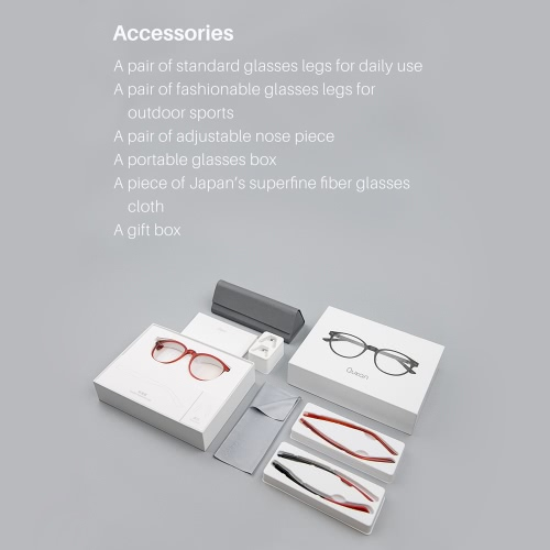 Roidmi Qukan W1 Anti-blue Light Lenses Self-tint Glasses UV-blocking Outdoor Eye-protector Indoor Fashion Modular Design for PlayiCellphone &amp; Accessories<br>Roidmi Qukan W1 Anti-blue Light Lenses Self-tint Glasses UV-blocking Outdoor Eye-protector Indoor Fashion Modular Design for Playi<br>