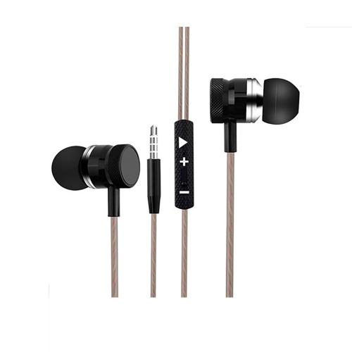 Auriculares deportivos CJB C17 con cable de control en línea para deportes