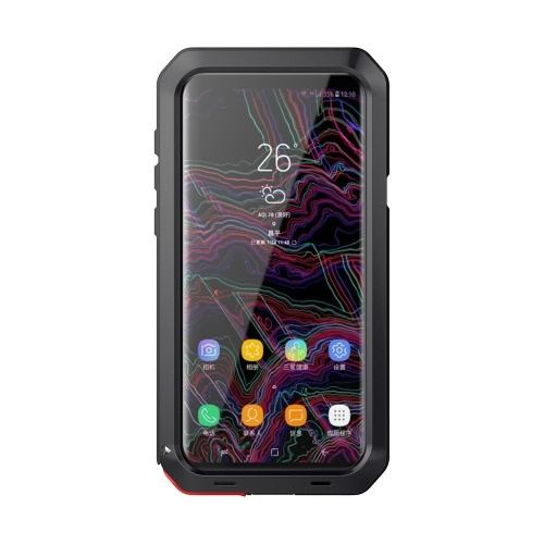 Para samsung galaxy s9 além de metal tampa do telefone de proteção
