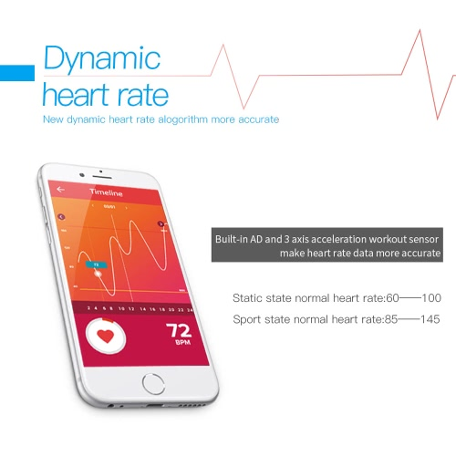 L38i Heart-rate Smart BT Sport Wristband Calls Notification Activity Tracking Sleep Monitor for iPhone 7 Plus Samsung S8+ iOS7 AndCellphone &amp; Accessories<br>L38i Heart-rate Smart BT Sport Wristband Calls Notification Activity Tracking Sleep Monitor for iPhone 7 Plus Samsung S8+ iOS7 And<br>