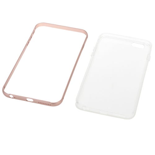 KKmoon Metal Frame + TPU Phone Case Protective Cover Shell for iPhone 6 Plus 6S Plus Eco-friendly Material Stylish Portable UltratCellphone &amp; Accessories<br>KKmoon Metal Frame + TPU Phone Case Protective Cover Shell for iPhone 6 Plus 6S Plus Eco-friendly Material Stylish Portable Ultrat<br>
