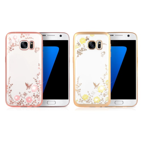 KKmoon Shell Case Protective Plated Back Cover Ultrathin Lightweight TPU Fashion Bling Bumper for Samsung Galaxy S7Cellphone &amp; Accessories<br>KKmoon Shell Case Protective Plated Back Cover Ultrathin Lightweight TPU Fashion Bling Bumper for Samsung Galaxy S7<br>