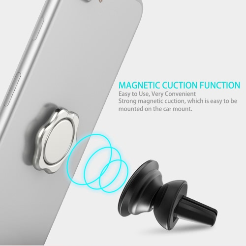 Universal Cell Phone Ring Holder Magnetic Suction Finger Ring Stand Car Mount Grip Kickstand 360° Rotation for Smartphones TabletsCellphone &amp; Accessories<br>Universal Cell Phone Ring Holder Magnetic Suction Finger Ring Stand Car Mount Grip Kickstand 360° Rotation for Smartphones Tablets<br>