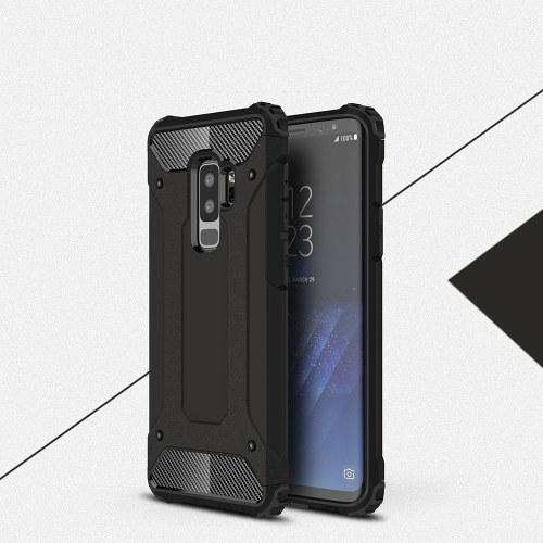 Samsung Galaxy S9 Plusケーススリムフィットデュアルレイヤーハードバックカバーバンパー保護ショックアブソーション&スキッド防止用スクラッチケース6.2インチ