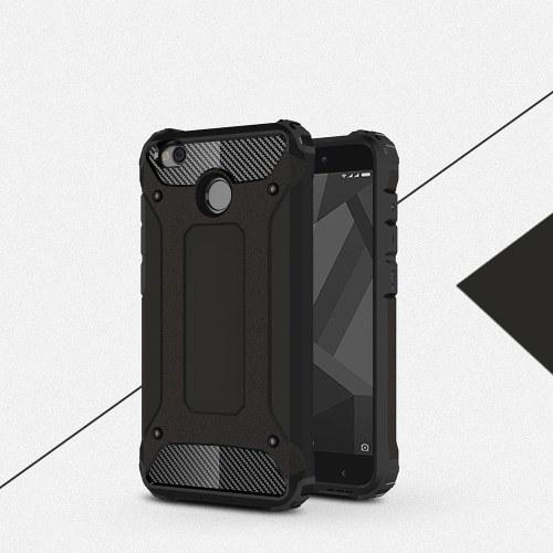Xiaomi Redmi 4Xケース用スリムフィットデュアルレイヤーハードバックカバーバンパー保護ショックアブソーバ&スキッド防止用スクラッチケース5インチ