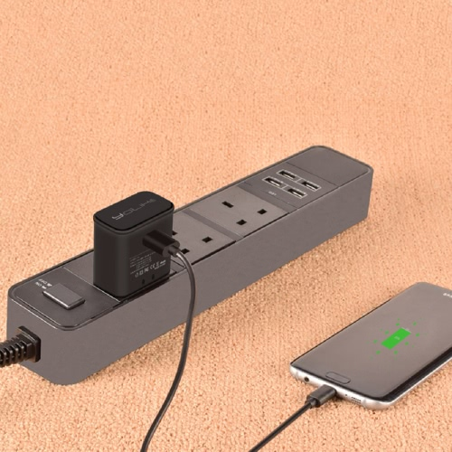 YoLike K6 Universal Charging Plug Power Adapter Quick Charge Fast Charge for Samsung Note 5 Xiaomi 5 Low Power Consumption PortablCellphone &amp; Accessories<br>YoLike K6 Universal Charging Plug Power Adapter Quick Charge Fast Charge for Samsung Note 5 Xiaomi 5 Low Power Consumption Portabl<br>