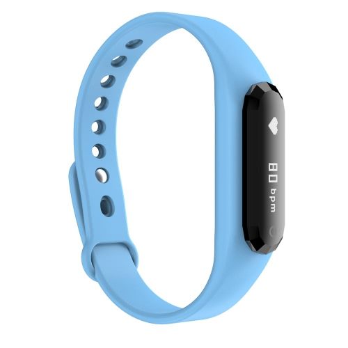 iMCO DBL SWB001 Heart Rate Smart Watch Wristband Bracelet Bluetooth 4.0 0.69 OLED Incoming Call Notification Pedometer Sleep MoniCellphone &amp; Accessories<br>iMCO DBL SWB001 Heart Rate Smart Watch Wristband Bracelet Bluetooth 4.0 0.69 OLED Incoming Call Notification Pedometer Sleep Moni<br>