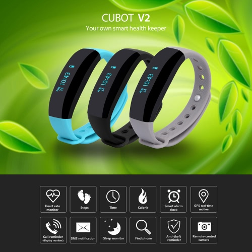 CUBOT V2 Smart Bluetooth Call Sport Watch Wristband Bracelet 0.88 Screen Time Text Call Reminder Pedometer Sleep Monitor Remote cCellphone &amp; Accessories<br>CUBOT V2 Smart Bluetooth Call Sport Watch Wristband Bracelet 0.88 Screen Time Text Call Reminder Pedometer Sleep Monitor Remote c<br>