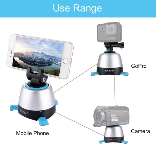 PULUZ Pan-Tilt Panoramic Head with Remote Controller 360-degree Rotation Cloud Deck for Smartphone GoPro DSLR CameraCellphone &amp; Accessories<br>PULUZ Pan-Tilt Panoramic Head with Remote Controller 360-degree Rotation Cloud Deck for Smartphone GoPro DSLR Camera<br>