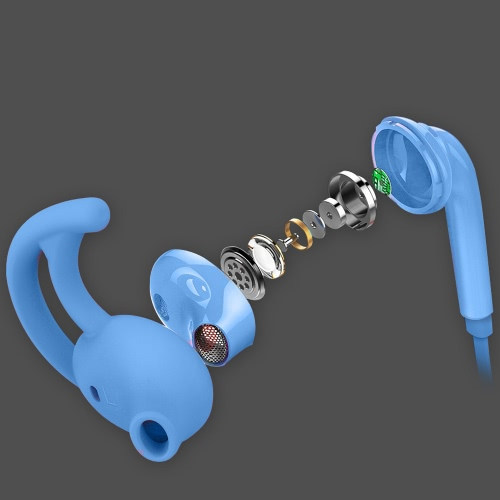 OVEVO S9 Dynamic Stereo Earphone Wired In-Ear Earphone ABS Earbuds Good Sound Quality Headphones with Microphone for all 3.5mm EarCellphone &amp; Accessories<br>OVEVO S9 Dynamic Stereo Earphone Wired In-Ear Earphone ABS Earbuds Good Sound Quality Headphones with Microphone for all 3.5mm Ear<br>