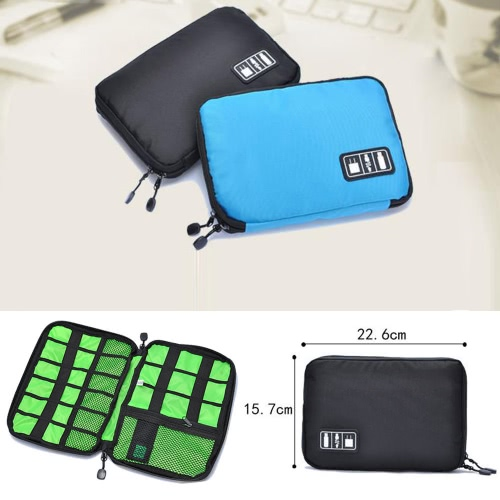 Travel Organizer Case Storage Bag Gadget  Kit for Electronic / Phone Accessories / USB Cables / Earphone / Power Banks / Hard DiskCellphone &amp; Accessories<br>Travel Organizer Case Storage Bag Gadget  Kit for Electronic / Phone Accessories / USB Cables / Earphone / Power Banks / Hard Disk<br>