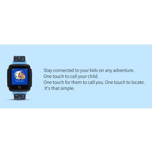 Tencent Kids QQ Watch C002 Voice Calling GPS Positioning Remote Monitoring Built-in Camera SOS Pedometer Smart Watch for KidsCellphone &amp; Accessories<br>Tencent Kids QQ Watch C002 Voice Calling GPS Positioning Remote Monitoring Built-in Camera SOS Pedometer Smart Watch for Kids<br>