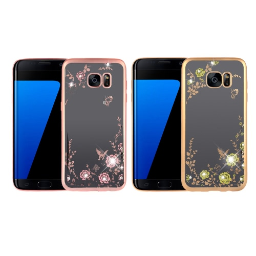 Original KKmoon Luxury Protective Clear TPU Back Case Bling Rhinestone Bumper Frame Flexible Design with Crystal Diamond Plating PCellphone &amp; Accessories<br>Original KKmoon Luxury Protective Clear TPU Back Case Bling Rhinestone Bumper Frame Flexible Design with Crystal Diamond Plating P<br>