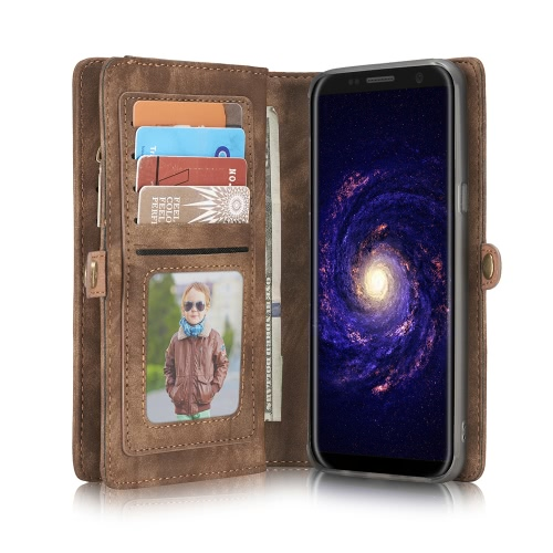 CaseMe 008 Multi-functional Wallet Phone Case Card-slot Protective Cover for 5.8 Inches Samsung Galaxy S8 Eco-friendly Stylish PorCellphone &amp; Accessories<br>CaseMe 008 Multi-functional Wallet Phone Case Card-slot Protective Cover for 5.8 Inches Samsung Galaxy S8 Eco-friendly Stylish Por<br>