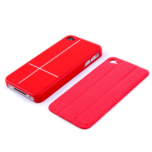 Magnetic Adsorption Smart Protective Stand Case Cover for iPhone 4 4S Multi-function Holder Headphone Bobbin Winder RedCellphone &amp; Accessories<br>Magnetic Adsorption Smart Protective Stand Case Cover for iPhone 4 4S Multi-function Holder Headphone Bobbin Winder Red<br>