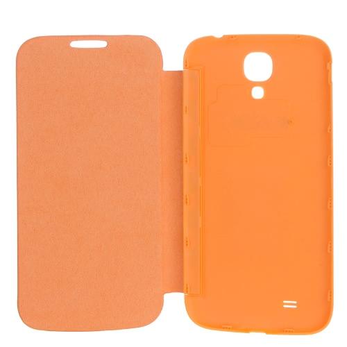 Elegant Back Cover Flip PU Leather Battery Housing Case for Samsung Galaxy S4 i9500/i9505 OrangeCellphone &amp; Accessories<br>Elegant Back Cover Flip PU Leather Battery Housing Case for Samsung Galaxy S4 i9500/i9505 Orange<br>