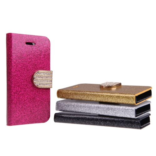 Fashion Wallet Case Flip Leather Stand Cover with Card Holder for iPhone 5S 5C 5 GoldenCellphone &amp; Accessories<br>Fashion Wallet Case Flip Leather Stand Cover with Card Holder for iPhone 5S 5C 5 Golden<br>