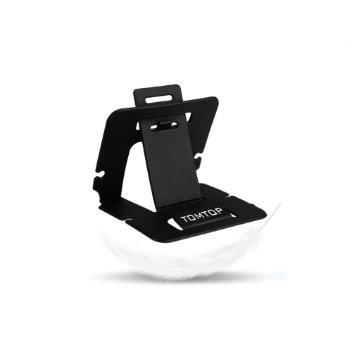 TOMTOP Universal PVC Cell Phone Card Folding Stand Holder Bracket Mount for iPhone 6 4.7 Samsung Galaxy HTC LG Smartphone BlackCellphone &amp; Accessories<br>TOMTOP Universal PVC Cell Phone Card Folding Stand Holder Bracket Mount for iPhone 6 4.7 Samsung Galaxy HTC LG Smartphone Black<br>