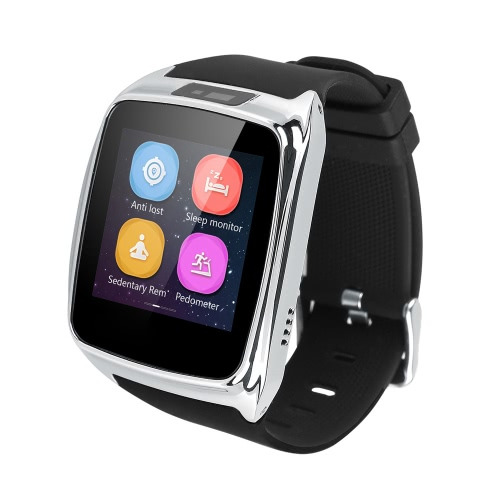 iradish i8 Bluetooth4.0 Smart Watch for iPhone6 6 Plus Samsung HTC IOS Android Smartphones Anti-lost Alarm Function Sleep MonitorCellphone &amp; Accessories<br>iradish i8 Bluetooth4.0 Smart Watch for iPhone6 6 Plus Samsung HTC IOS Android Smartphones Anti-lost Alarm Function Sleep Monitor<br>