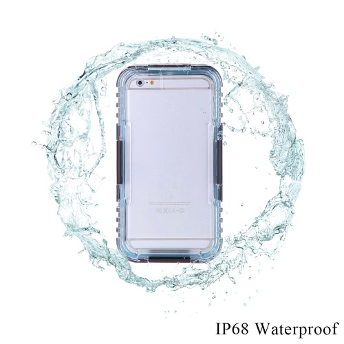 Light Weight Durable Protective Case Shell Cover Dustproof Waterproof IP68 Shockproof with String for iPhone 6 PlusCellphone &amp; Accessories<br>Light Weight Durable Protective Case Shell Cover Dustproof Waterproof IP68 Shockproof with String for iPhone 6 Plus<br>