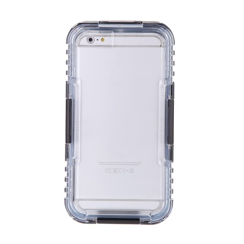 Copertura Custodia Cassa Protettiva Leggera Durevole Antipolvere Impermeabile IP68 Antiurto con la stringa per iPhone 6 Plus