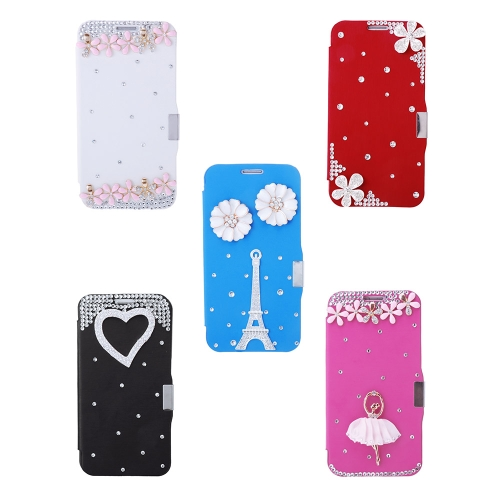 Fashion Flip PU Leather Bling Rhinestone Diamond Protective Case Cover for Samsung Galaxy S6Cellphone &amp; Accessories<br>Fashion Flip PU Leather Bling Rhinestone Diamond Protective Case Cover for Samsung Galaxy S6<br>
