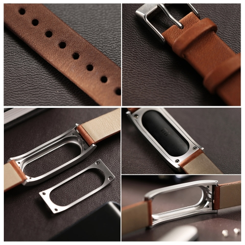 Xiaomi Adjustable High Quality Unisex Genuine Leather Replacement Wrist Band Strap for Miband BraceletCellphone &amp; Accessories<br>Xiaomi Adjustable High Quality Unisex Genuine Leather Replacement Wrist Band Strap for Miband Bracelet<br>