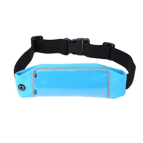 Casual Waist Sport Running Pouch Pack Bag Sweatproof Purse Mobile Phone Wallet Zipper Case Holder with Belt for 5-6 Mobile PhoneCellphone &amp; Accessories<br>Casual Waist Sport Running Pouch Pack Bag Sweatproof Purse Mobile Phone Wallet Zipper Case Holder with Belt for 5-6 Mobile Phone<br>