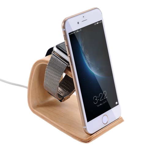 SamDi Wooden Charging Stand Holder Station Dock Cradle for Apple Watch iWatch 38mm 42mm All Edition for iPhone 6 6S 6 Plus 6S PlusCellphone &amp; Accessories<br>SamDi Wooden Charging Stand Holder Station Dock Cradle for Apple Watch iWatch 38mm 42mm All Edition for iPhone 6 6S 6 Plus 6S Plus<br>