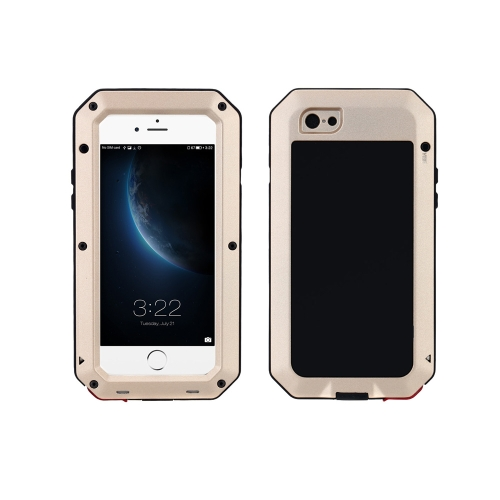 Durable Protective Case Shell Cover Dustproof Shockproof Fingerprint Function Metal for iPhone 6 6S 4.7