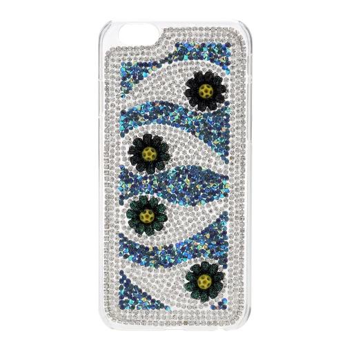 Fai da te fiore telefono cellulare custodia per iPhone 6 6S elegante portatile ultrasottile leggero anti-graffio anti-polvere durevole