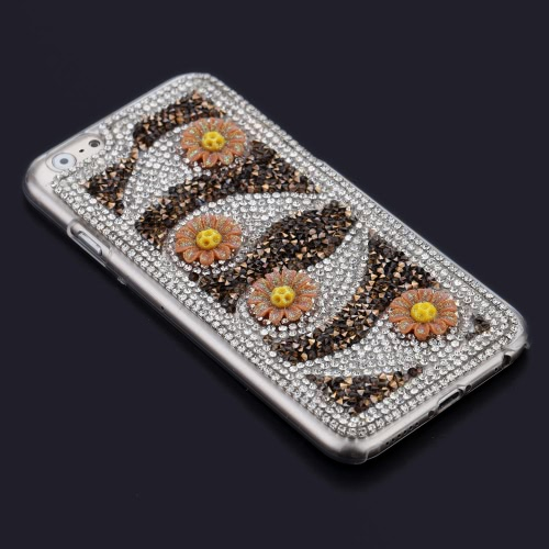 DIY Flower Phone Case for iPhone 6 6S Stylish Portable Ultrathin Lightweight Anti-scratch Anti-dust DurableCellphone &amp; Accessories<br>DIY Flower Phone Case for iPhone 6 6S Stylish Portable Ultrathin Lightweight Anti-scratch Anti-dust Durable<br>