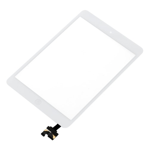 Outer G + G Capacitive Touch Screen Multi-touch Digitizer Replacement Assembly  with IC Connector Flex Home Button for iPad mini 1Cellphone &amp; Accessories<br>Outer G + G Capacitive Touch Screen Multi-touch Digitizer Replacement Assembly  with IC Connector Flex Home Button for iPad mini 1<br>