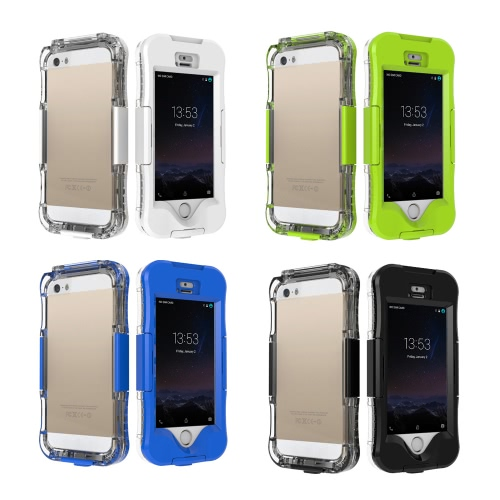 Fashion Waterproof Heavy Duty Phone Case Shell Durable Shockproof Dirt Snow Proof Phone Cover for iPhone 5 5S 5SECellphone &amp; Accessories<br>Fashion Waterproof Heavy Duty Phone Case Shell Durable Shockproof Dirt Snow Proof Phone Cover for iPhone 5 5S 5SE<br>