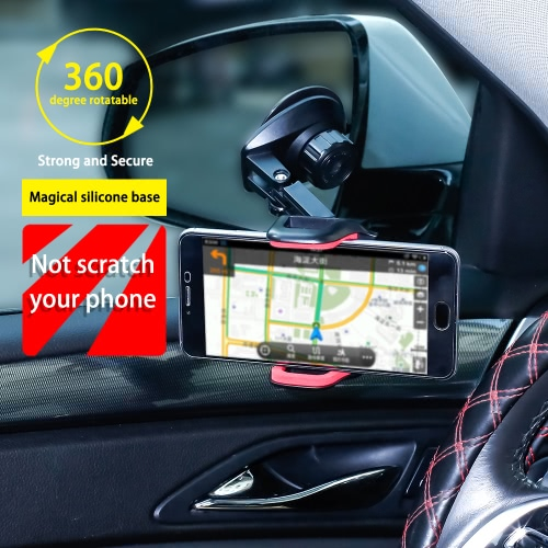 Universal 360°Rotation Automatic Locked Car Mobile Phone Bracket Windshield Mount Holder for GPS Smartphone 3.5-7inchCellphone &amp; Accessories<br>Universal 360°Rotation Automatic Locked Car Mobile Phone Bracket Windshield Mount Holder for GPS Smartphone 3.5-7inch<br>