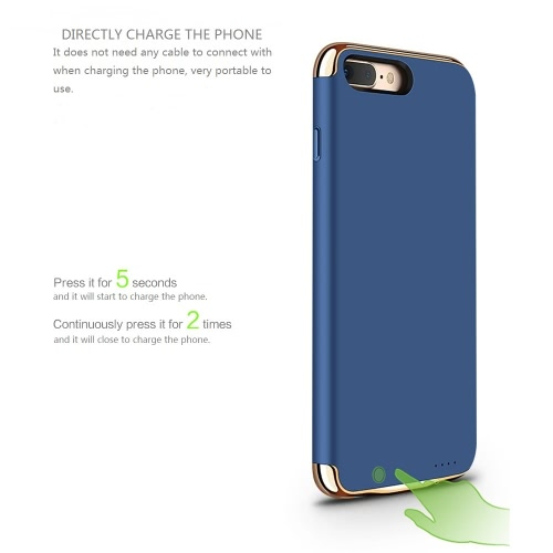 New Portable Charging Smart Wireless Ultra-thin Rechargable Power Bank External Backup Battery Back Clip Case Cover 3500mAh for iPCellphone &amp; Accessories<br>New Portable Charging Smart Wireless Ultra-thin Rechargable Power Bank External Backup Battery Back Clip Case Cover 3500mAh for iP<br>